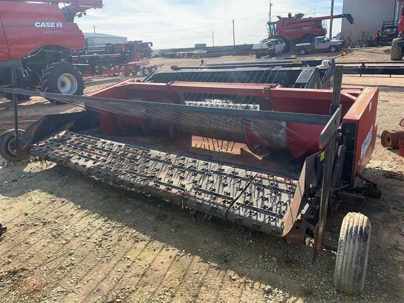 Phillips Canola harvester front