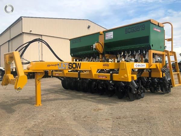 Serafin Ultisow 3.5m 18 Row Combine Trailing Single Disc Seeder