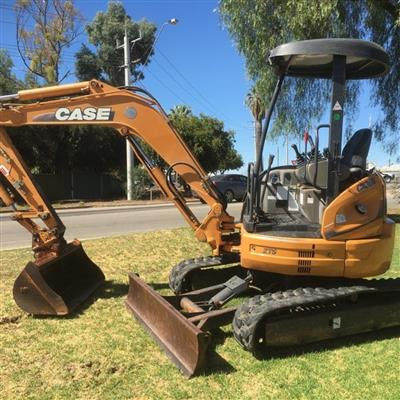 Photo 2. CASE CX36 excavator
