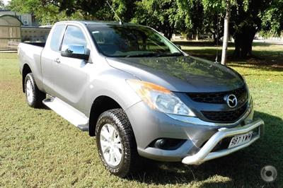 Photo 1. Mazda BT-50 XTR UP Manual 4x4 ute