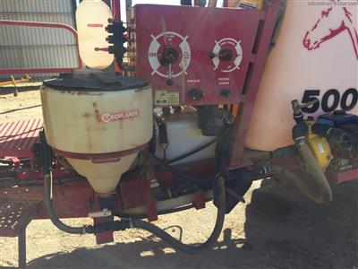 Photo 3. CROPLANDS PEGASUS 5028 boomsprayer