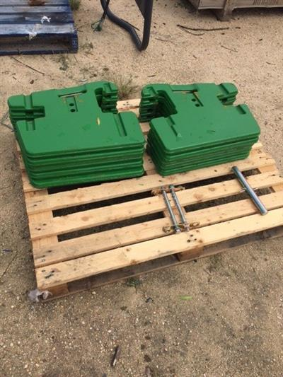 Photo 2. John Deere 5000 & 6000 Series Tractor weights