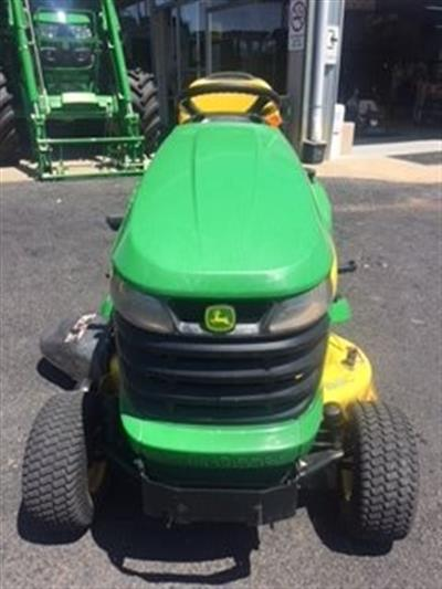 Photo 3. John Deere X300 ride on mower