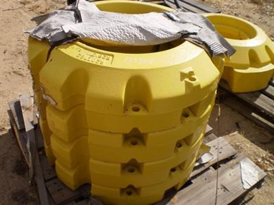 John Deere Wheel Weights 205kg