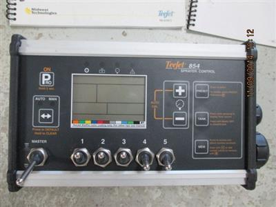 Photo 3. TeeJet 854 Sprayer Control