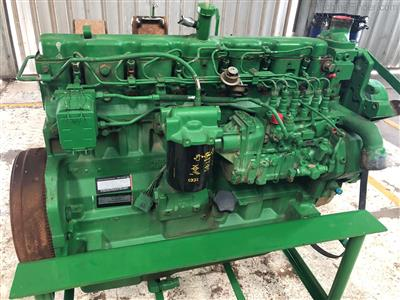 JOHN DEERE 8.1L engine