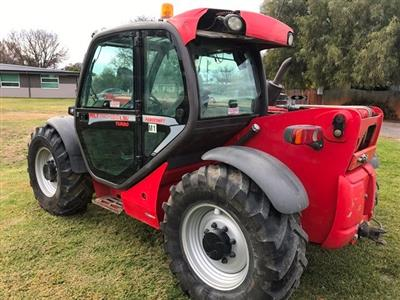 Photo 2. Manitou MLT 741-120 Telescopic Handler