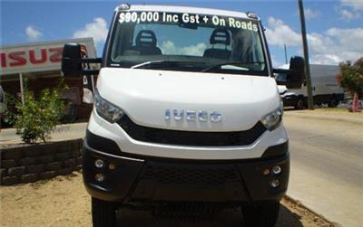 Photo 2. Iveco Daily 55170 4x4 Cab Chassis truck