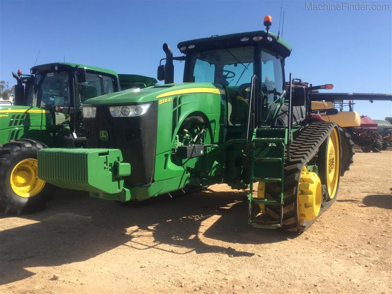 Photo 5. John Deere 8335RT tracked tractor