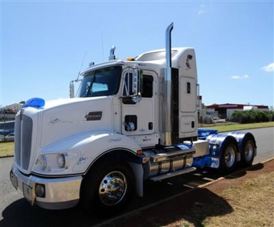 Photo 3. Kenworth T403 prime mover