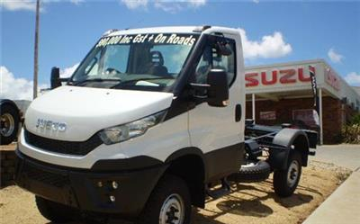 Photo 3. Iveco Daily 55170 4x4 Cab Chassis truck