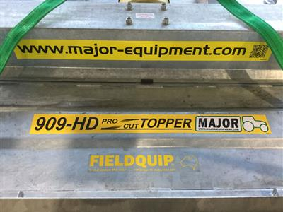 Photo 4. Fieldquip Major 909HD Pasture Topper