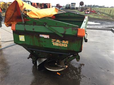 Photo 4. Amazone ZA-M 1500 AMAZONE ZAM1500 3PL SPREADER Fertilizer/Manure Spreader