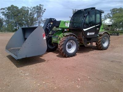 Photo 4. Faresin FH7.45 telehandler