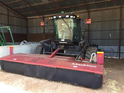 MacDon M200 with R80 mower