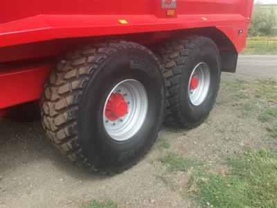 Photo 5. 18TON GRAVEL / GRAIN / SILAGE Farm Tipper/Trailer