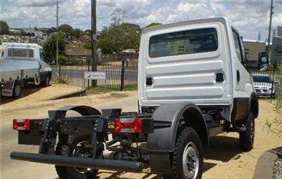 Photo 5. Iveco Daily 55170 4x4 Cab Chassis truck