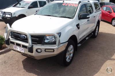 Photo 4. Ford Ranger Wildtrak PX Manual 4x4 Double Cab ute