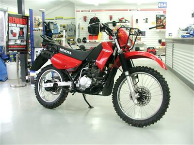 Honda CTX200AG bike