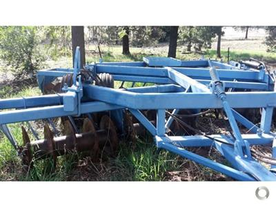 Photo 3. Grizzly S40 cultivator
