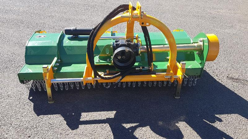 Agking 2000 side-shift flail mower