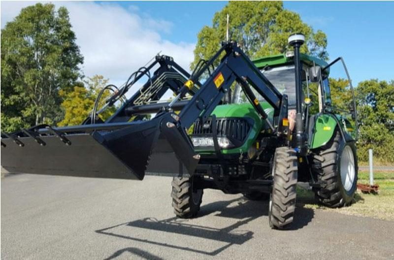 Agking TZ06 front end loader with quick release 4 in 1 bucket