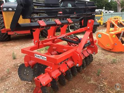 Photo 2. Minos Agri DTM-18 cultivator