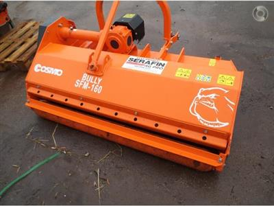Photo 2. Cosmo Bully SFM 160 mulcher