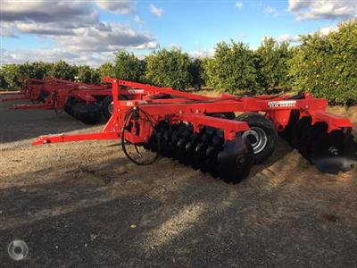 Photo 2. Serafin Eco Series 20 Plate Offset Disc cultivator