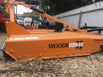 Photo 2. Woods BB840XDW 7ft Slasher