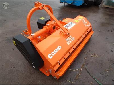 Photo 4. Cosmo Bully SFM 160 mulcher