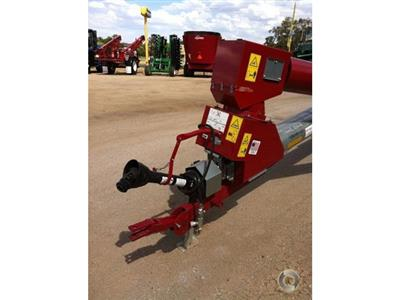 Photo 3. HUTCHINSON 72 FOOT BY 10 INCH SWING AWAY grain auger