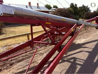 Photo 5. HUTCHINSON 72 FOOT BY 10 INCH SWING AWAY auger