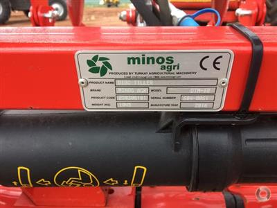 Photo 3. Minos Agri DTM-18 cultivator