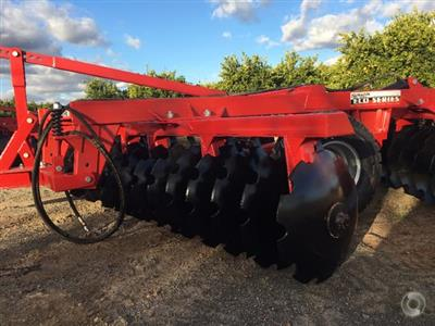 Photo 4. Serafin Eco Series 20 Plate Offset Disc cultivator