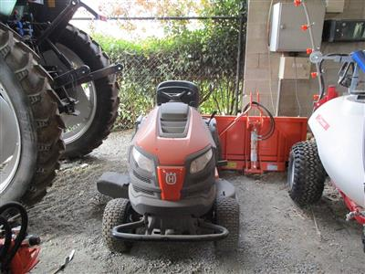 Photo 1. Used Husqvarna TS242 Ride on Mower