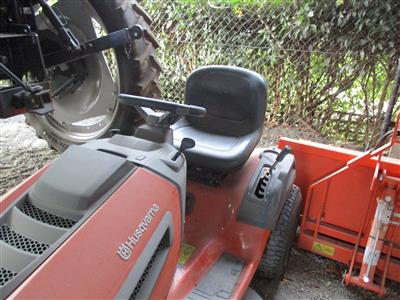 Photo 2. Used Husqvarna TS242 Ride on Mower