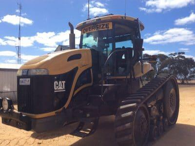 Photo 2. CATERPILLAR CHALLENGER MT755 tracked tractor