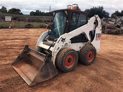 Used Bobcat S185 Skid Steer