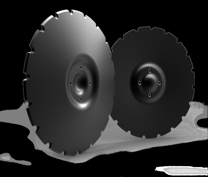 Photo 1. Grizzly disc blades