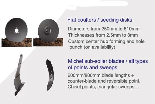 Photo 5. Grizzly disc blades