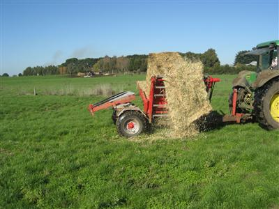 Photo 4. Pa-Mick hay and silage feeder