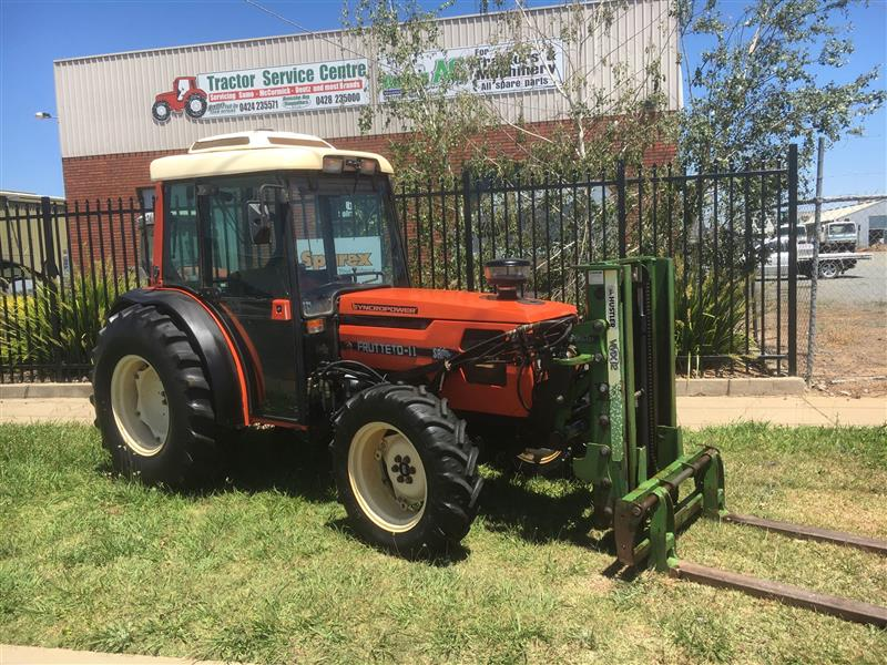 SAME Frutteto 75 Series 2 with Forklift