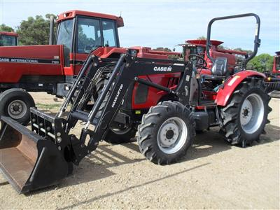 Photo 5. Case IH Maxxfarm 60B Tractor & Loader