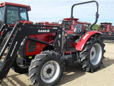 Photo 4. Case IH Maxxfarm 60B Tractor & Loader
