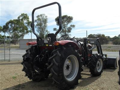 Photo 2. Case IH Maxxfarm 60B Tractor & Loader