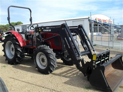 Photo 1. Case IH Maxxfarm 60B Tractor & Loader