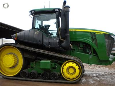 Photo 5. John Deere 9560RT tracked tractor