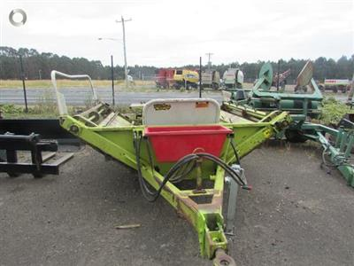 Photo 3. CLAASIC MK 5 bale feeder